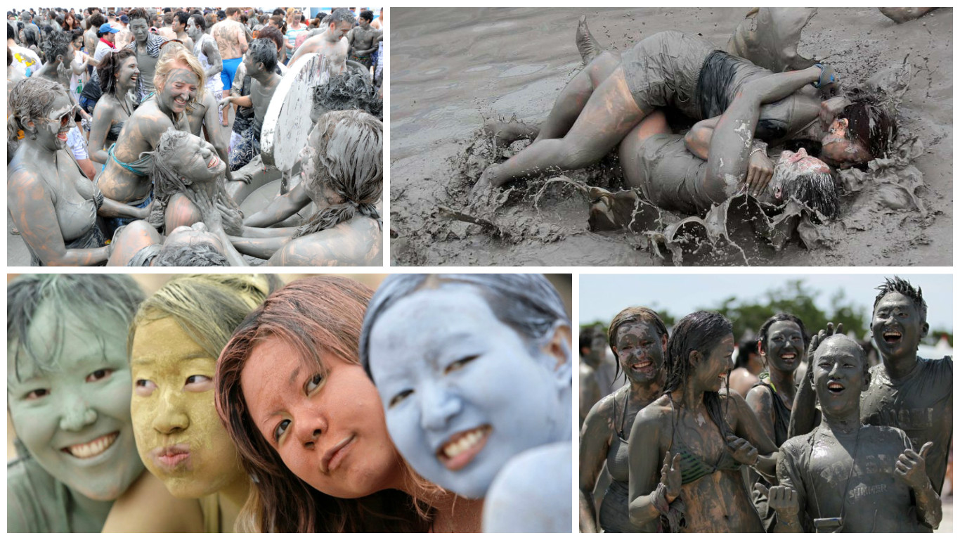 boryeon mud festival