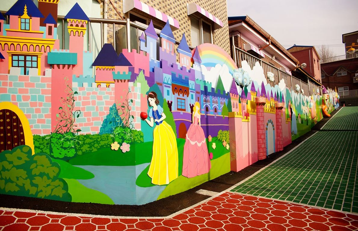 Image result for Songwol-dong Fairytale Village korea