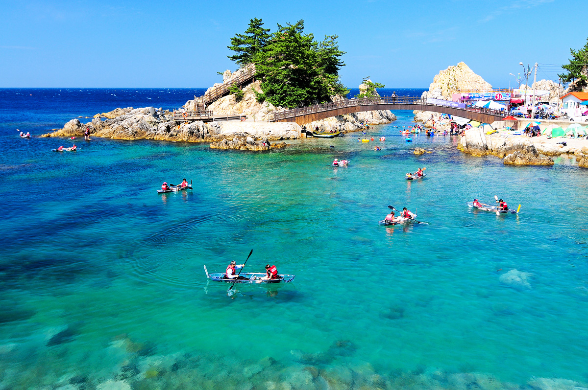 Jangho Beach East Sea Coast