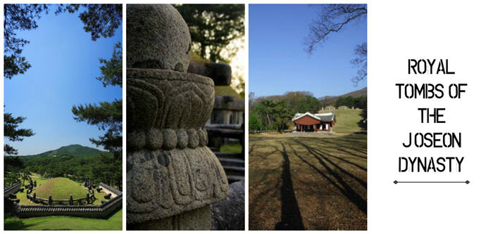 royal tombs of the joseon dynasty collage