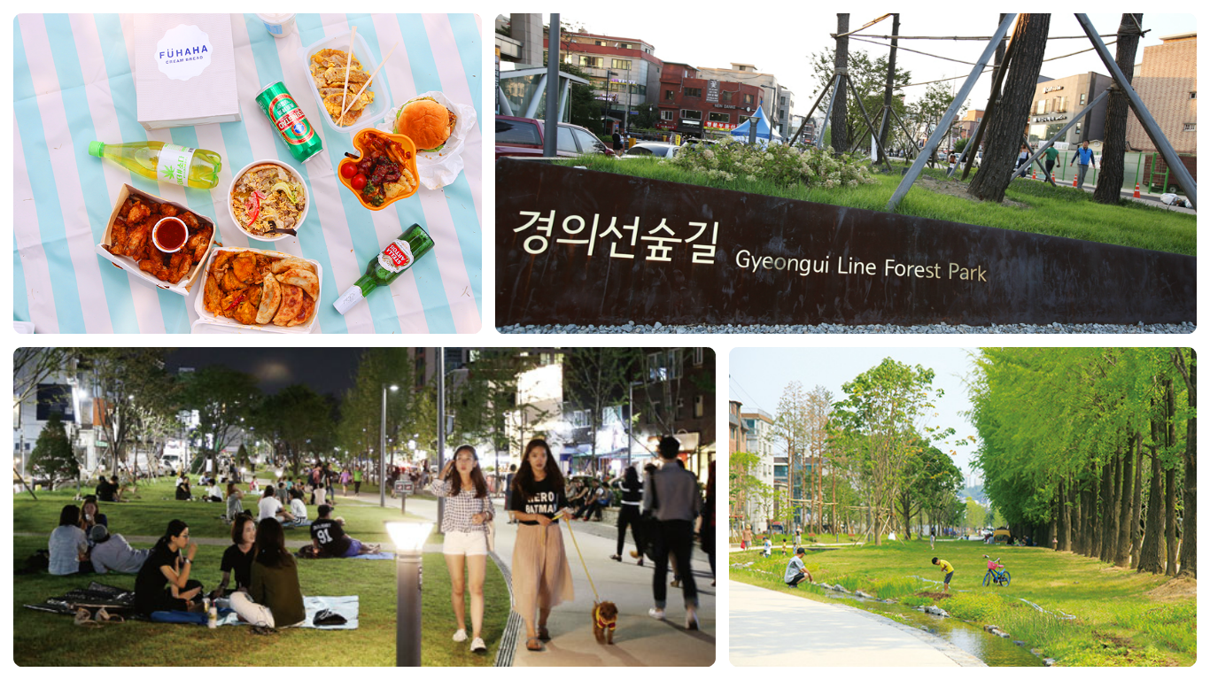 Hongdae Gyeongui Line Forest Park