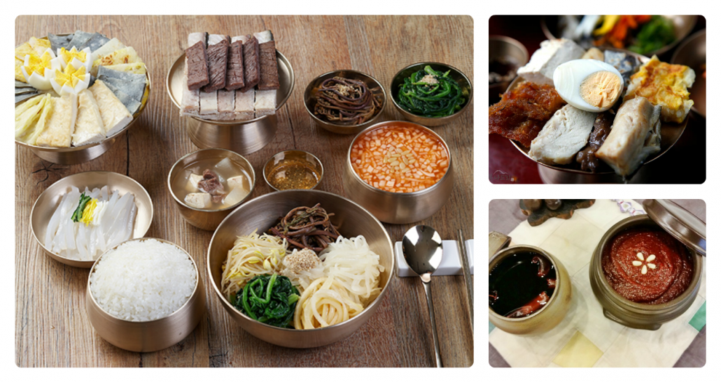 Foods of Andong