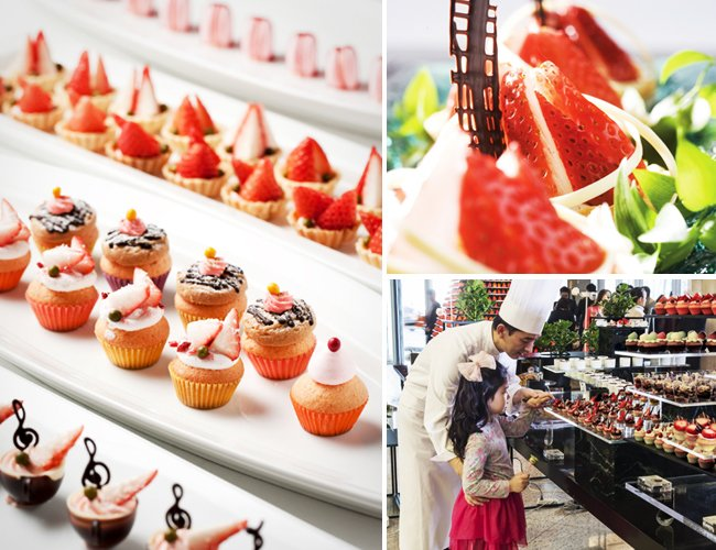 strawberry buffet seoul